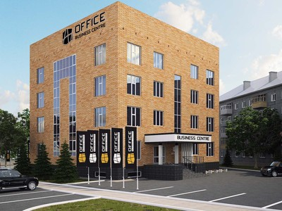 Проект бизнес-центра,  офисных зданий,  эскизный проект - main