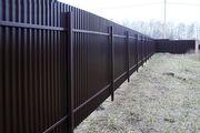Украшаем свои владения забором из профилированного металла