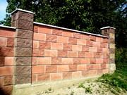 Строительство забора из кирпича или блока от УютСтройКараганда. - foto 1