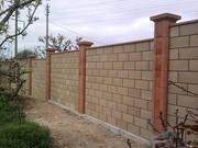 Строительство забора из кирпича или блока от УютСтройКараганда. - foto 2