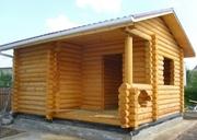Строительство бани из блока,  сруба или бруса под ключ! - foto 3