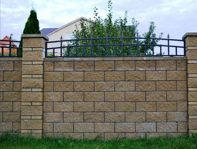 Строительство забора из кирпича или блока от УютСтройКараганда. - main