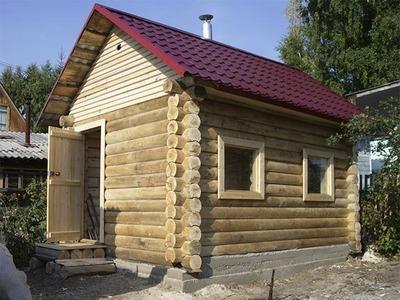 Строительство бани из блока,  сруба или бруса под ключ! - main