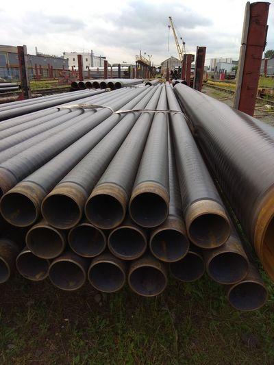 Трубы стальные,  услуги изоляции ВУС и ППУ - main