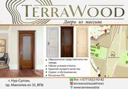 Межкомнатные двери из Ольхи от фабрики TerraWood