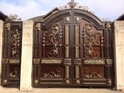 кованые ворота и ограждения, решетки - foto 1