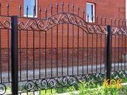 кованые ворота и ограждения, решетки - foto 3