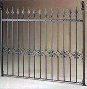 кованые ворота и ограждения, решетки - foto 4