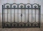 кованые ворота и ограждения, решетки - foto 5