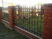 кованые ворота и ограждения, решетки - foto 7